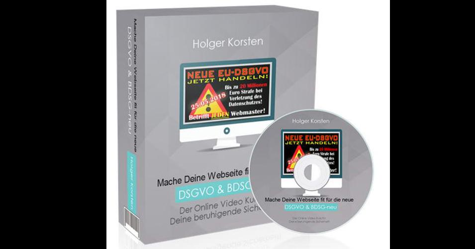 Geld verdienen mit dem DSGVO Online Informations und Praxiskurs