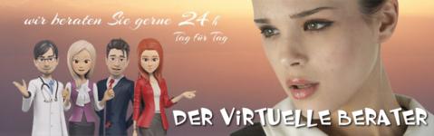 Der virtuelle Berater bringt Leben auf Ihre Website