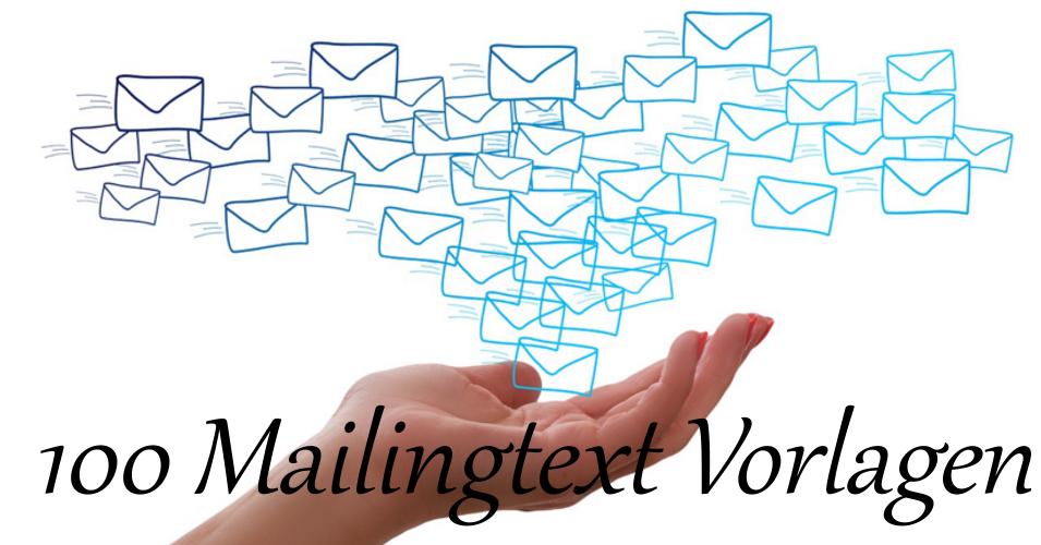 100 Mailingtexte Vorlagen für Ihre Kunden
