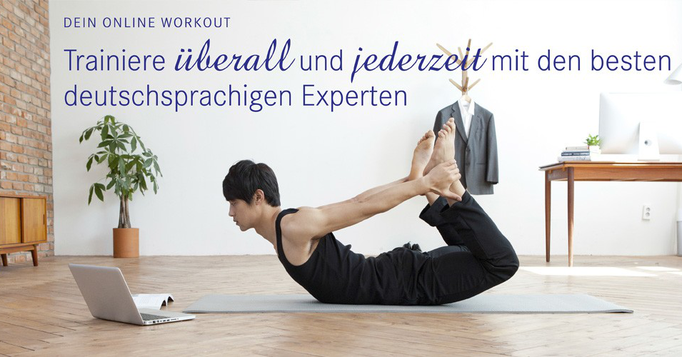 Das virtuelle Pilates Studio