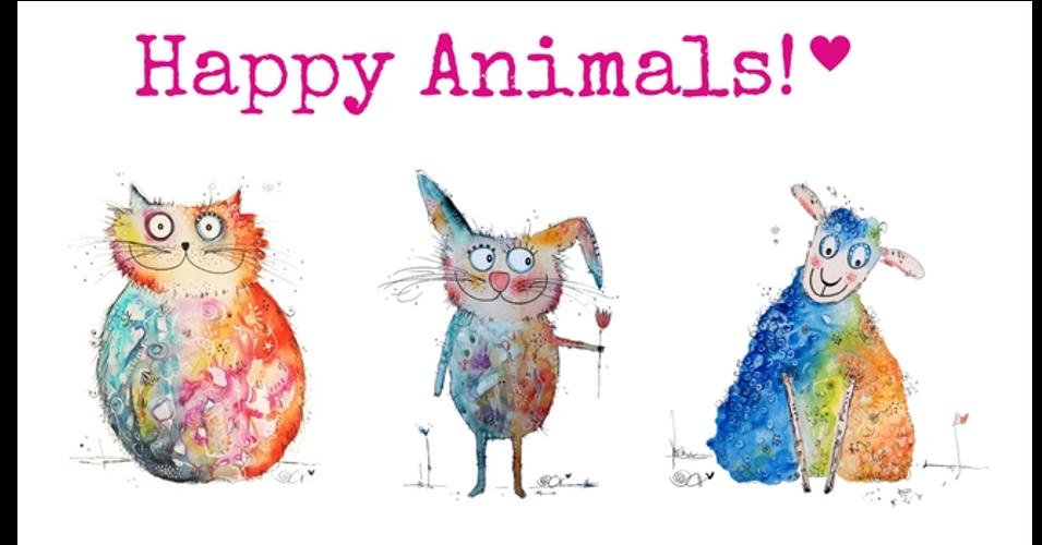 Happy Animals - Malen lernen im fröhlichen Online-Kreativkurs