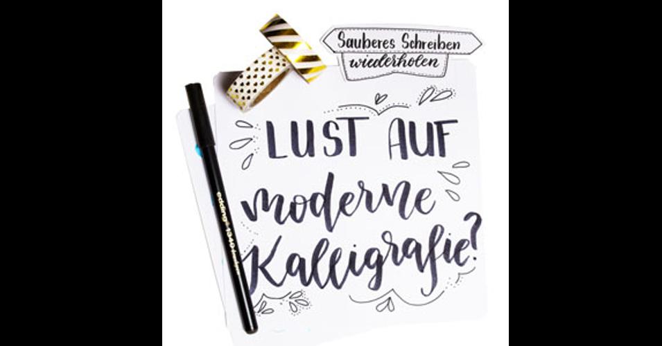 Von der Handschrift zum Handlettering