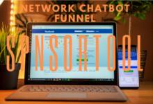 Sponsortool Network Chatbot Funnel