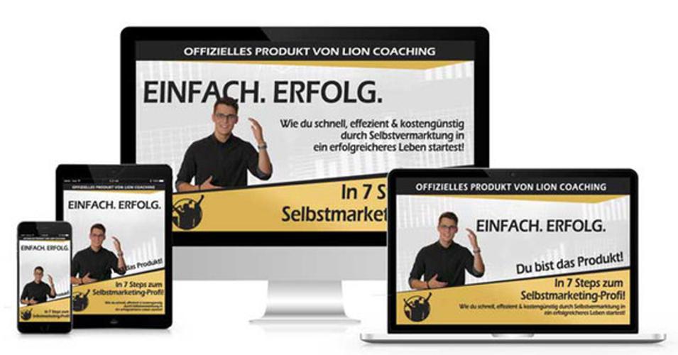 Einfach-Erfolg Selbstvermarktung einfach, schnell und online lernen