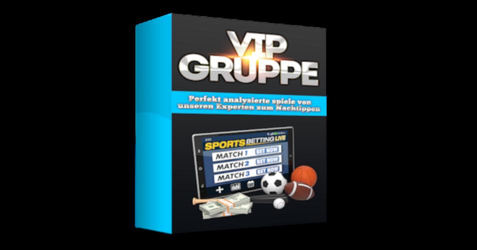 Premium Sportwetten VIP-Gruppe